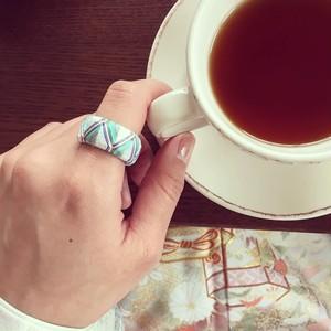 オーダー  ☆ あなた色の絹の指輪