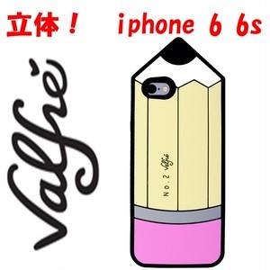 Valfre ヴァルフェー アメリカ の 立体 えんぴつ iphone 6 6sケース ビッグ ペンシル iphone 6 アイフォン シックス カバー 面白雑貨 バースデー 海外 ブランド