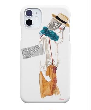 【すぐにお届け♪ 】iPhone11・片面スマホケース「サスペンダー」