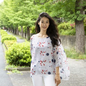 SILK BLOUSE (incl.tax)
