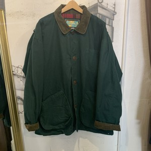 corduroy collar hunting jacket