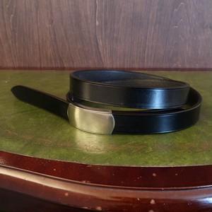 HOOK BELT -UK BRIDLE- フックベルト イングリッシュブライドル 一枚革ベルト