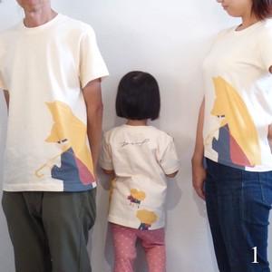 """Adult size/ナチュラル """"  Buttercup T """" Tシャツ おしゃれ な オリジナルデザイン"""