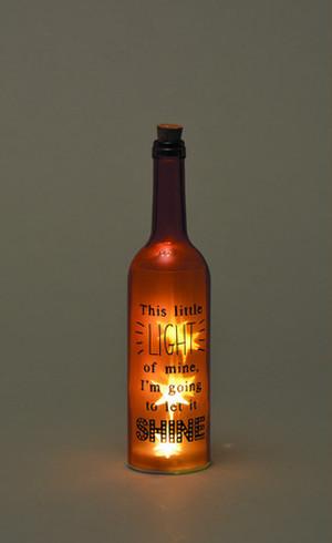 ボトルドライトツインクル  ☆ボトルライト☆オレンジ