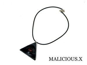 devil eye necklace(black) / red