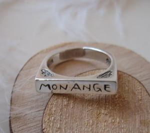 MonAnge 印台リング