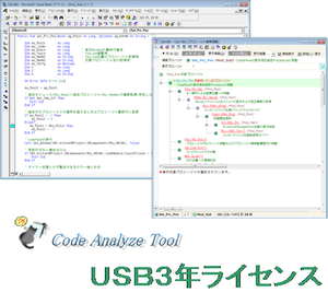 Code Analyze Tool USB 3年ライセンス