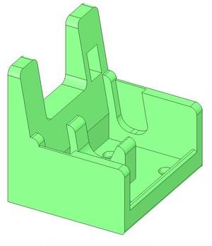 【3Dデータ】ロボムーバーの座席のSTLファイル
