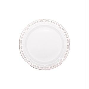 Koyo ラフィネ リムプレート 皿 約17.5cm スモークホワイト 15910107