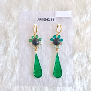 【ARME DE JET】petit flower Earrings 131-E001