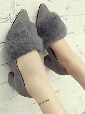 【shoes】Mid-heels ladies sexy casual shoes