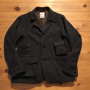 "H.UNIT STORE LABEL ""Tweed hands- free jacket"""