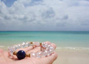 Lapis lazuli mysterious bracelet