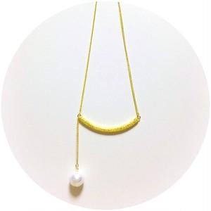 真珠のなみだネックレス