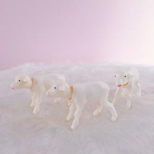 *再入荷*Bobbing Lamb White 首振り子羊