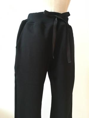 【IKUKO】裏毛スウェットパンツ コットン100 Gray/Black