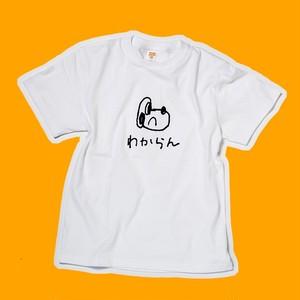 わからん犬Tシャツ