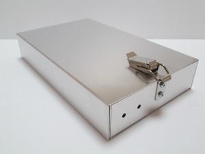 スライド式アルミタックルボックス
