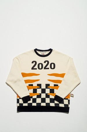 Walter Van Beirendonck for FlowerMOUNTAIN 2020/5 TIGER SWEATSHIRT