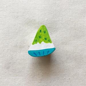 かき氷(メロン) Shaved Ice (Melon)