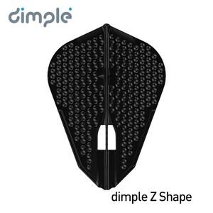 L-Flight PRO dimple L9d [Z Shape] Black