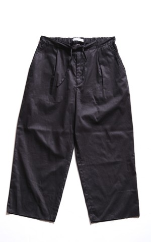 CC 1TUCK EASY PANTS-BLACK