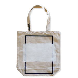 Frame Tote Bag (WHITE)