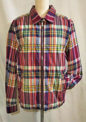 TOMMY HILFIGER Check drizzler jacket [1532]