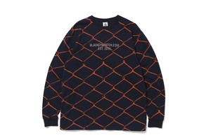BLACK EYE PATCH / FENCED L/S TEE