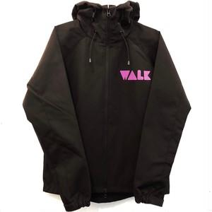 WALK シェルパーカ (黒ボディ)