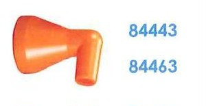 """84443 汎用クーラントホース1/2"""" 1/4"""" 90°ノズル"""