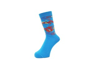 WHIMSY - 32/1 DRAGON SOCKS (Turquoise)
