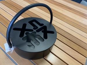 石川県の鉄職人が作った蚊取り線香入れ「殺」【黒】