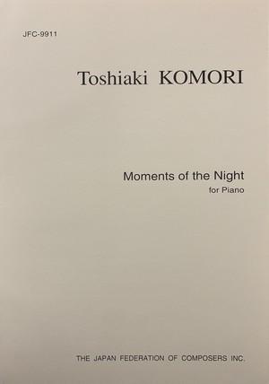 K45i91 Moments of the Night(Piano/K. Toshiaki /Full Score)