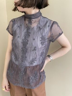 see-through tops  / 7SSTP20-17
