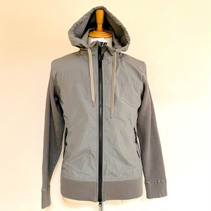 Cool Max Waffle Switch Hoodie Jacket Gray