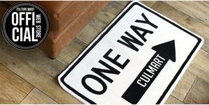 カルチャーマート(Culture Mart) FLOOR MAT(ONE WAY) 【フロアマット リビング 汚れ防止 玄関マット 室内】