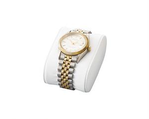 腕時計用クッション 合皮貼り白 AR-1969