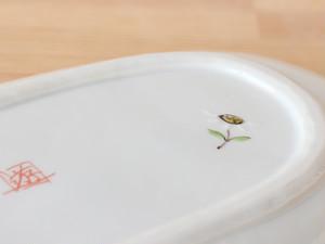 花の小路 長丸皿