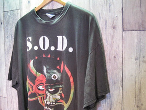 90s S.O.D (Stormtroopers of Death) Bigger than the Devil バンドTシャツ(送料込み)