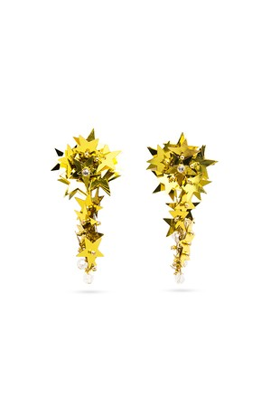 Spangle Star Earrings | GOLD
