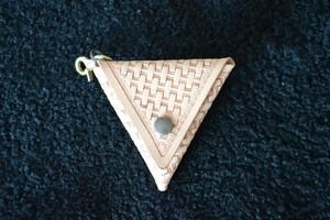 三角コインケース ver.バスケット