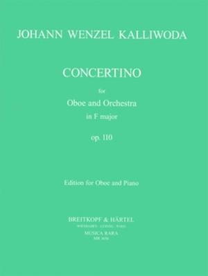 カリヴォダ:コンチェルティーノ ヘ長調 Op.110 / オーボエ・ピアノ