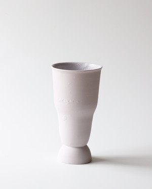 パープルな言葉のフラワーベース 花瓶