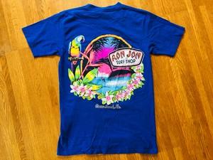 RON JON ロンジョン ポケット Tシャツ OLD サーフィン リゾート 90s