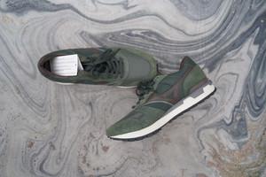 【2021SpringSALE】 MIZUNO GV87 80s style dad sneaker Green