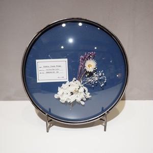 Bubble Glass Frame L WH