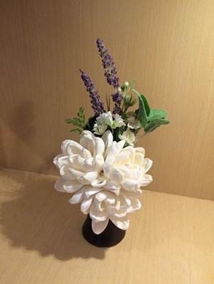 ソラフラワーで作るインテリア仏壇用仏花