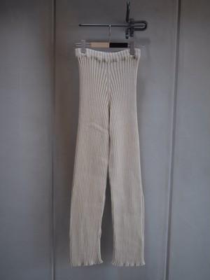 Baserange / CIRRI PANT-COTTON RIB (RAW WHITE)