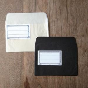 グラシン洋封筒+水糊ラベル各5枚 S